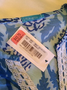 Dillards J.McLaughlin Tunic Sale Price